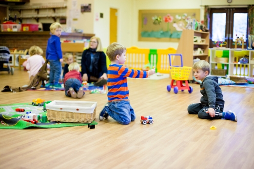 Playtime at nursery