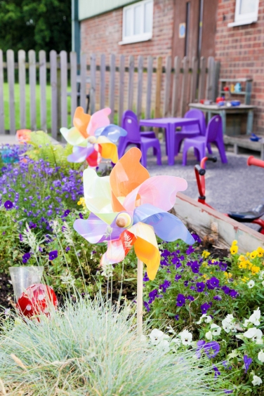 Outdoor area - Spring is here!