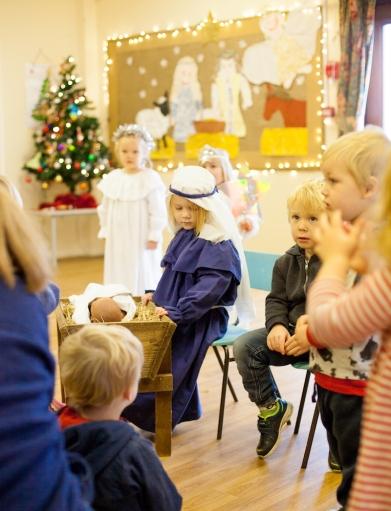 Reepham Nursery nativity 2016-17