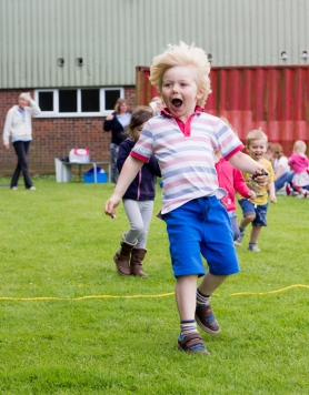 Reepham Nursery sports day